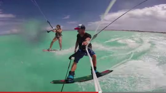 This is the life - Kitesurfing