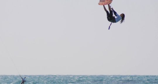 Competing Globally Takes Kite Surfer Hagit Oz to New Heights